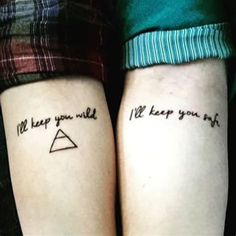 good couple tattoo quotes couple tattoos for the much in love soulmates it s not as