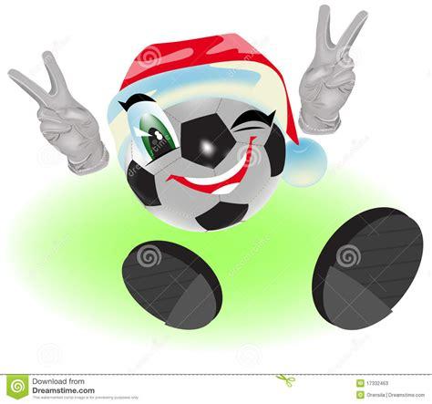 imagenes navidad futbol bal 243 n de f 250 tbol de la navidad ilustraci 243 n del vector