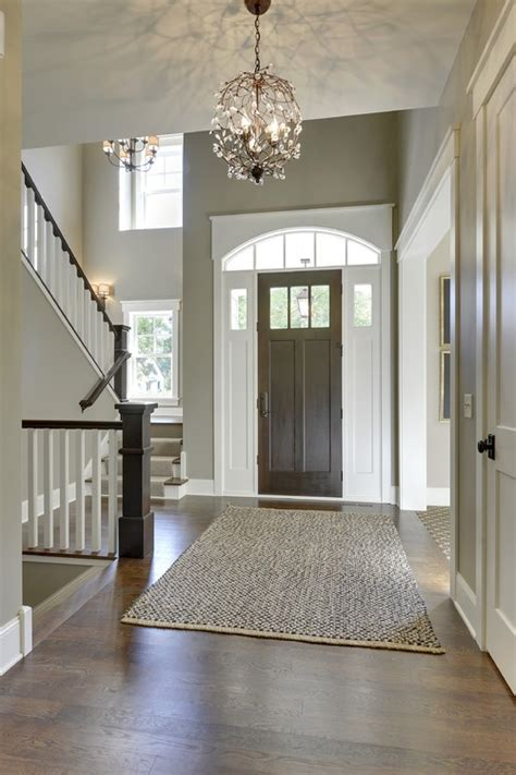 front entrance foyer exterior doors
