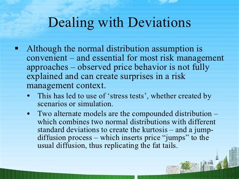 Mba Risk Managment by Financial Risk Management Ppt Mba Finance