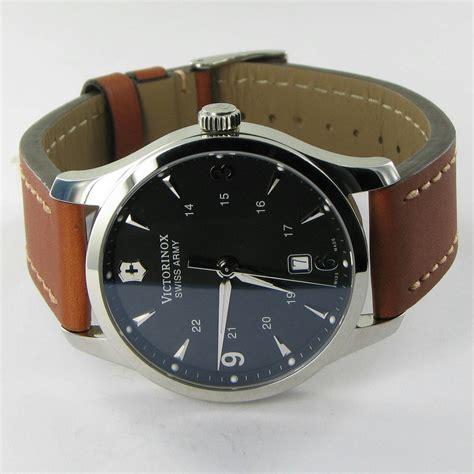 Swiss Army Brown Cover Black victorinox swiss army 241475 alliance black brown nwot 450
