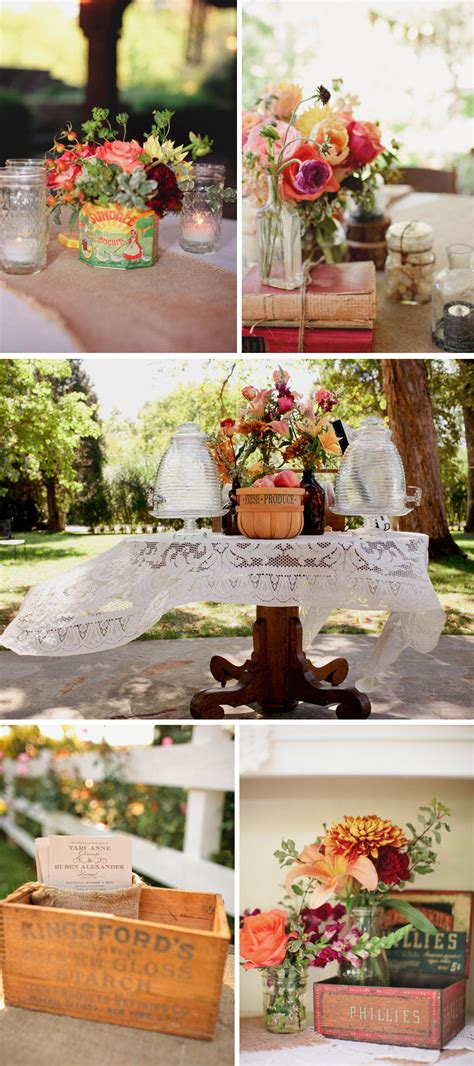 wedding decoration wedding centerpieces outdoor theme