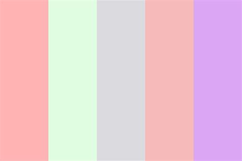 color combination with pink pink blur color palette