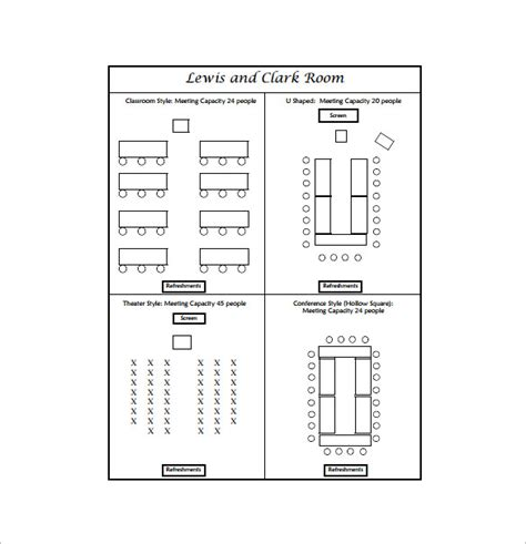 seating arrangement template seating chart template free premium templates