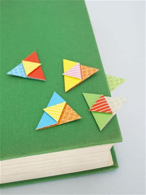 Easy Origami Bookmarks - origami bookmarks bookmark