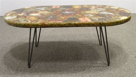 petrified wood coffee table petrified wood specimen coffee table at 1stdibs
