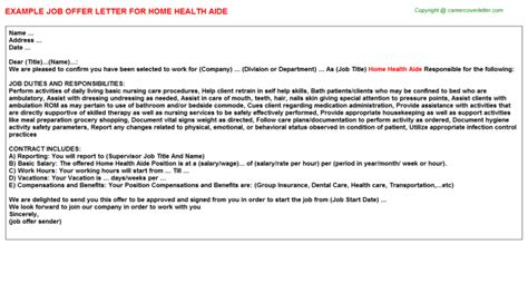 home health aide title docs