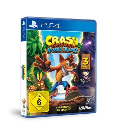 Crash Auto Spiele by Ps4 Spiel Crash Bandicoot N Sane Trilogy Spiel Real