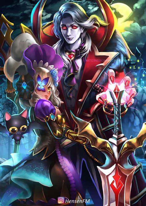 alucard viscount mobile legends fanart hensenfm