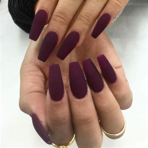 Jaket Finger Maroon Yellow best 25 burgundy matte nails ideas on acrylic