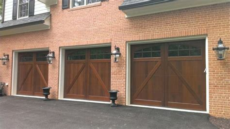 Composite Wood Garage Doors Wood And Composite Carriage Garage Doors Traditional Garage Dc Metro By Crisway Garage