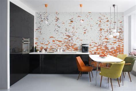 cool wall murals   kitchen
