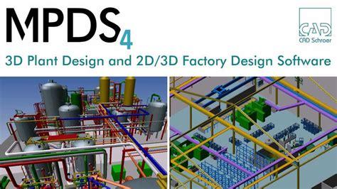 factory layout design online 3d plant design 2d 3d factory design software mpds4