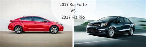 Kia Optima Vs Kia Forte 2017 Kia Forte Vs 2017 Kia
