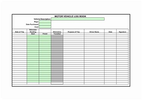 truck driver log book excel template clergy
