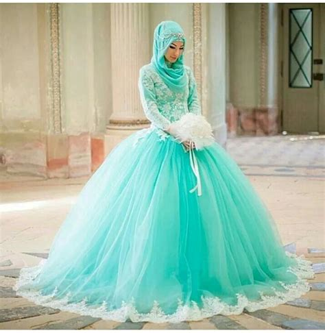 desain gaun cinderella gaun pengantin muslim terbaru 2015