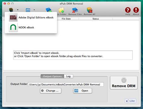 format epub drm remove adobe drm from epub book for mac ibook