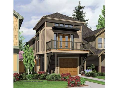 Narrow 2 Story House Plans by Two Story Narrow House Plan House Florida House Ideas