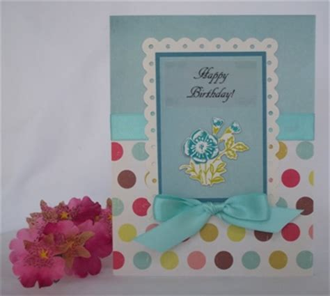 Ideas For Handmade Birthday Cards - handmade birthday card idea with exles of handmade cards
