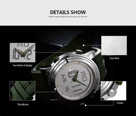 bahan untuk membuat jam digital sinobi jam tangan sporty digital pria 9368 green