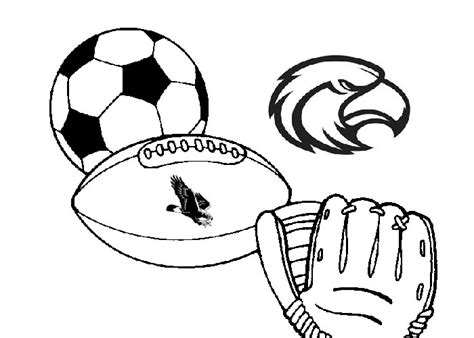 coloring pictures of sports equipment murderthestout