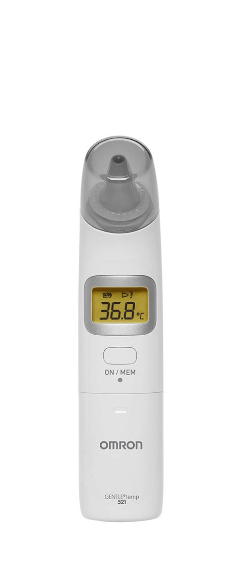 Ear Thermometer Omron omron gentle temp 521 ear thermometer ebay