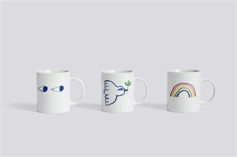 hay design mug hay white mug pigeon finnish design shop