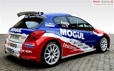 peugeot 207 rally peugeot 207 s2000 kresta gross česk 225 rally peugeot