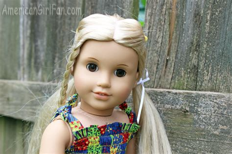 hairstyles for american girl julie doll hairstyle you re a star pigtails americangirlfan