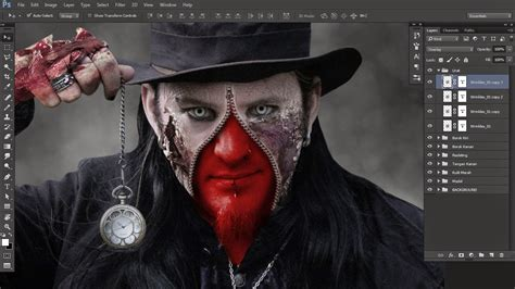 tutorial wajah zombie photoshop tutorial efek zombie adobe photoshop downknow