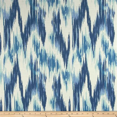 Black And Ivory Curtains Home Accents Casbah Ikat Slub Baltic Blue Discount