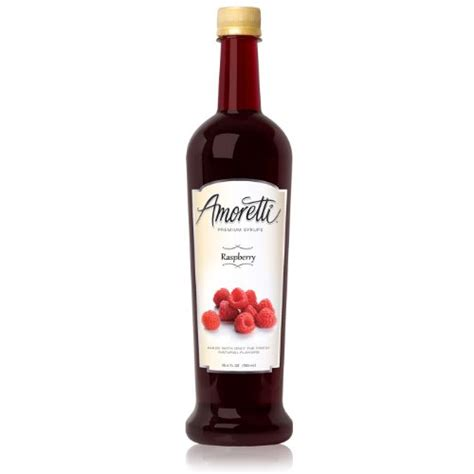 Raspberry Detox Premium by Amoretti Premium Syrup Raspberry 25 4 Ounce Dietary