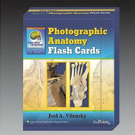 anatomy coloring book flash cards rohen s photographic anatomy flash cards 9780781778350