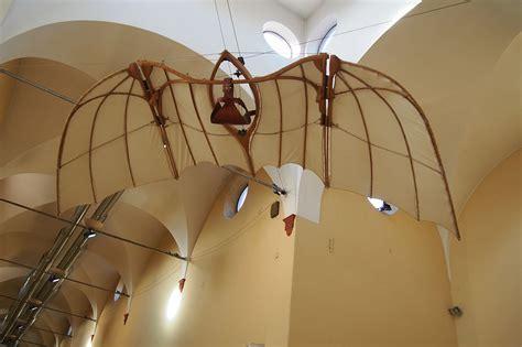 macchina volante di leonardo da vinci museo nazionale della scienza e della tecnologia leonardo