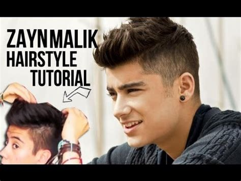 how to create johnny bravo hair mens hairstyle tutorial zayn malik one direction hairstyle tutorial men s