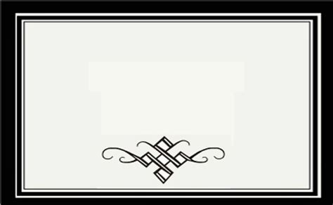 desain kartu nama kosongan contoh desain bingkai undangan pernikahan informasi