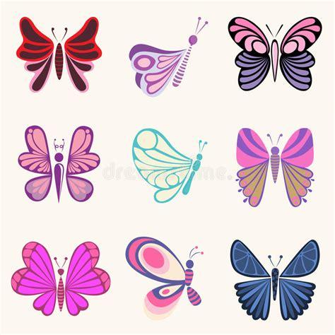 clipart farfalle disegni della farfalla illustrazione vettoriale