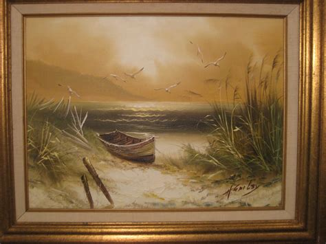 H Painting by Vintage Antique Carnival Collection H Gailey