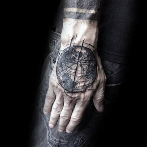 abstract tattoo designs for men 17 best ideas about globe tattoos on traveler