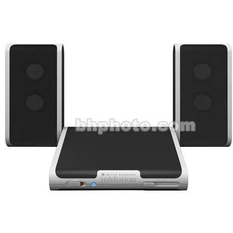 Audio Mobil Speaker Box 4 Altec altec lansing demo inmotion im4 portable speakers for cd
