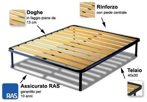 reti da letto reti letto con telaio in ferro e listelli in legno
