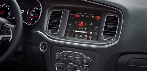 2016 dodge charger command center interior features