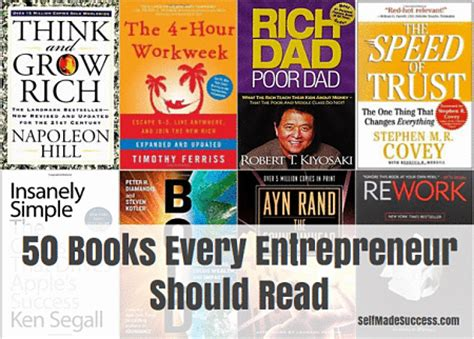 entrepreneurship the science and process for success books 50 books every entrepreneur should read