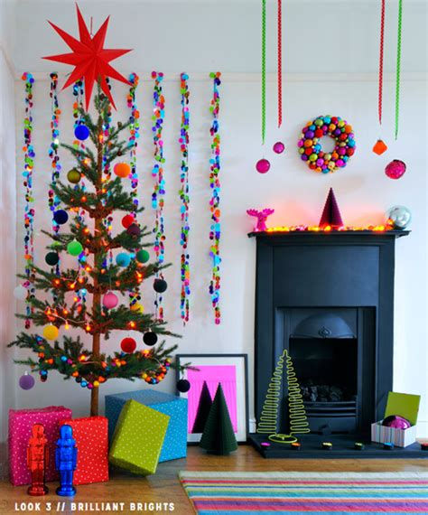 three colourful christmas decorating ideas bright bazaar