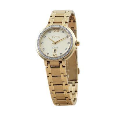 Jam Tangan Wanita 1713 Bkue harga bonia bn10091 2223s gold jam tangan wanita