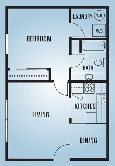 600 sq ft apartment floor plan best 25 1 bedroom house plans ideas on small