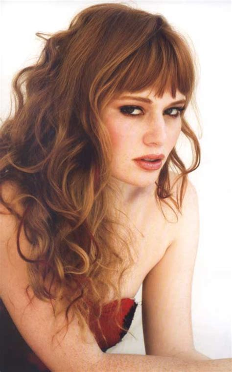 Hairstyles Hair With Bangs by 30 Best Curly Hair With Bangs Hairstyles Haircuts 2016