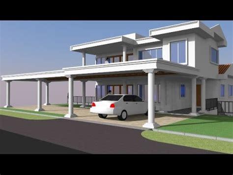 Porch Rumah Moden rekabentuk ubahsuai porch banglo 2 tingkat di seksyen 2
