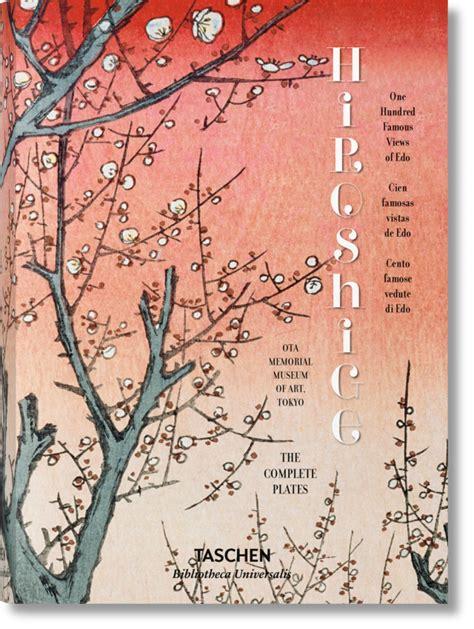 libro impressionist art bibliotheca universalis hiroshige cien famosas vistas de edo bibliotheca universalis libros taschen