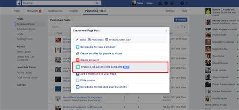 fb jobs making sense of facebook s new job posting feature